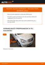 Jak wymienić Drążek wspornik stabilizator w MERCEDES-BENZ B-CLASS (W245) - porady i wskazówki