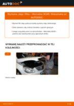 Jak wymienić oleju silnikowego i filtra w Mercedes W245 - poradnik naprawy