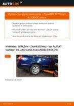 Jak wymienić sprężyny zawieszenia tył w VW Passat 3C B6 Variant - poradnik naprawy