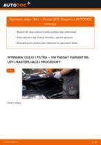 Jak wymienić oleju silnikowego i filtra w VW Passat 3C B6 Variant - poradnik naprawy