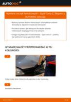 Darmowe instrukcje online jak odnowić Szczęk hamulca do hamulce bębnowego OPEL CORSA C (F08, F68)