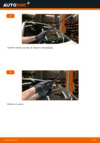 Jak vyměnit přední stírací lišty na Opel Zafira F75 – návod k výměně