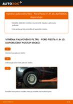 Výměna Brzdovy valecek FORD FIESTA: zdarma pdf