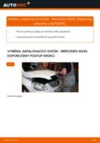 Výměna Zapalovaci svicka MERCEDES-BENZ B-CLASS: zdarma pdf