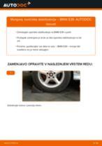 Kako zamenjati avtodel končnik stabilizatorja zadaj na avtu BMW E39 – vodnik menjave