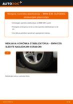 Kako zamenjati avtodel končnik stabilizatorja spredaj na avtu BMW E39 – vodnik menjave