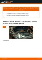 Kako zamenjati avtodel vžigalne svečke na avtu Ford Fiesta V JH JD – vodnik menjave