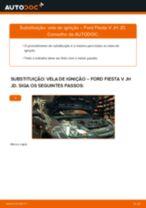 Mudar Vela de Ignição FORD faça você mesmo - manual online pdf