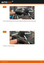 Como mudar escovas do limpa vidros da parte dianteira em Honda Insight ZE2_ZE3 - guia de substituição