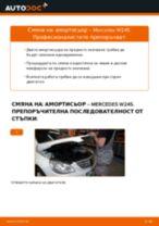 PDF наръчник за смяна: Макферсон MERCEDES-BENZ B-класа (W245) задни и предни