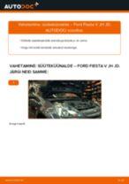 FORD Süüteküünal vahetamine DIY - online käsiraamatute pdf