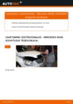 PDF asendamise juhend: Süüteküünal MERCEDES-BENZ B-klass (W245)