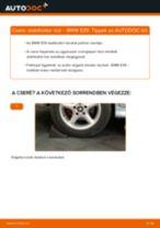 Hátsó stabilizátor rúd-csere BMW E39 gépkocsin – Útmutató