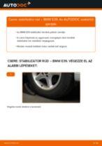 Elülső stabilizátor rúd-csere BMW E39 gépkocsin – Útmutató