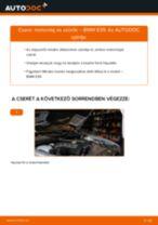 Motorolaj és szűrők-csere BMW E39 gépkocsin – Útmutató