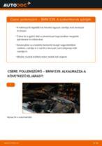 Pollenszűrő-csere BMW E39 gépkocsin – Útmutató