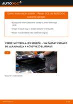 Motorolaj és szűrők-csere VW Passat 3C B6 Variant gépkocsin – Útmutató