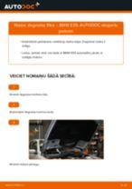 Kā nomainīt: degvielas filtru BMW E39 - nomaiņas ceļvedis