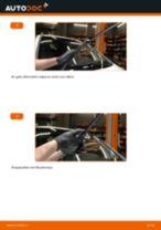 Kaip pakeisti Opel Zafira F75 valytuvų: priekis - keitimo instrukcija
