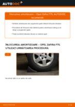 Cum să schimbați: amortizoare din spate la Opel Zafira F75 | Ghid de înlocuire