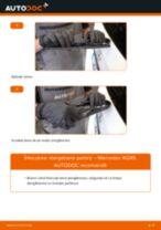 Manual de reparație MERCEDES-BENZ Clasa ML - instrucțiuni pas cu pas și tutoriale