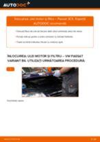 Cum să schimbați: ulei motor și filtru la VW Passat 3C B6 Variant   Ghid de înlocuire