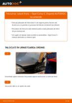 Cum să schimbați: saboti frana din spate la Opel Corsa C   Ghid de înlocuire