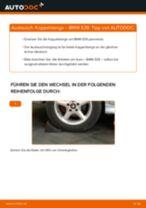 Wie Stabilisator Koppelstange hinten links beim BMW 5 (E39) wechseln - Handbuch online