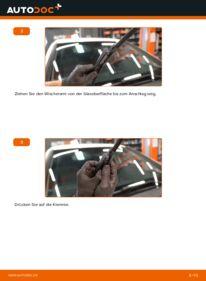 Wie der Wechsel durchführt wird: Scheibenwischer B 180 CDI 2.0 (245.207) Mercedes W245 tauschen