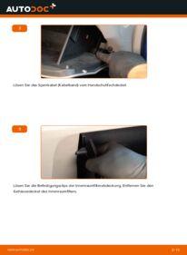 Wie der Wechsel durchführt wird: Innenraumfilter 1.3 Hybrid (ZE28, ZE2) Honda Insight ZE2/ZE3 tauschen