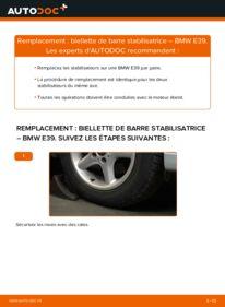 Comment effectuer un remplacement de Biellette De Barre Stabilisatrice sur 523i 2.5 BMW E39