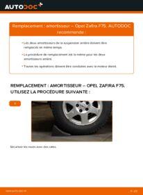 Comment effectuer un remplacement de Amortisseurs sur 2.0 DTI 16V (F75) Opel Zafira A