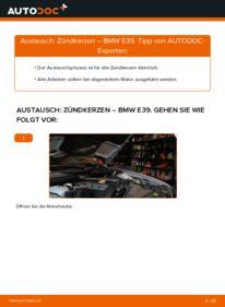 Wie der Wechsel durchführt wird: Zündkerzen 523i 2.5 BMW E39 tauschen