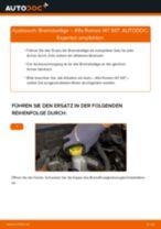 Peugeot 206+ Stabilisator wechseln vorderachse Anleitung pdf