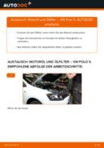 Wie VW Polo 5 Motoröl und Ölfilter wechseln - Schritt für Schritt Anleitung