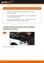 Stoßdämpfer austauschen AUDI A3: Werkstatt-tutorial