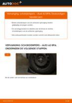 AUDI A3 vóór Schokdemper vervangen: online instructies
