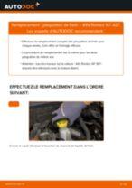 Comment changer Étrier De Frein arrière + avant Skoda Rapid Berline - manuel en ligne