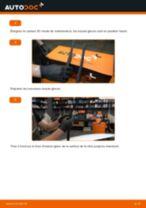 Comment changer Jeu de balais d'essuie-glace arrière et avant VW POLO Saloon - manuel en ligne