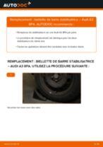 Comment changer Câble de frein de stationnement VW KARMANN GHIA - manuel en ligne