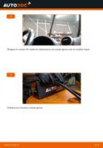 Comment changer : essuie-glaces avant sur Audi A3 8PA - Guide de remplacement