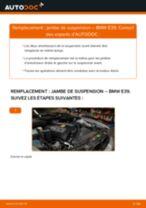 Tutoriel PDF étape par étape sur le changement de Amortisseurs sur BMW 5 (E39)