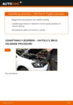 Udskift fjederben for - VW Polo 5   Brugeranvisning
