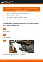 Udskift brændstoffilter - VW Polo 5 | Brugeranvisning