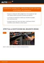 Cambiare Pastiglie Freno ALFA ROMEO 147: manuale tecnico d'officina