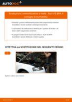 Sostituzione Kit ammortizzatori AUDI A3: pdf gratuito