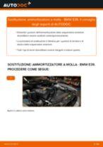 Come cambiare ammortizzatore a molla della parte anteriore su BMW E39 - Guida alla sostituzione