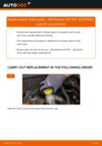 rear and front Brake pads ALFA ROMEO 147 (937) | PDF replacement manual