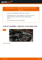 Byta fjäderben fram på BMW E39 – utbytesguide