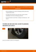 Einbau von Stoßdämpfer Satz beim VW POLO Saloon - Schritt für Schritt Anweisung